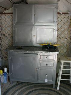 Vintage Metal Hoosier Cabinet | Hoosier cabinet, Vintage and Antiques