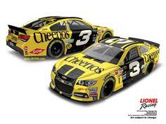 Jayski's® NASCAR Silly Season Site - 2016 NASCAR Sprint Cup Series #3 Paint Schemes