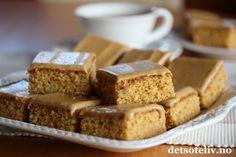 Sweet Recipes, Cake Recipes, Dessert Recipes, Norwegian Food, Types Of Cakes, I Love Food, No Bake Cake, Just Desserts, Baked Goods