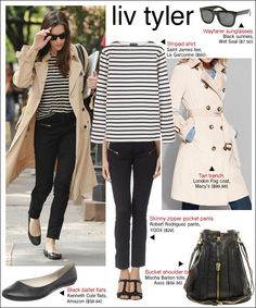 I like this look. It's great for any size. I need to invest in a chic trench.