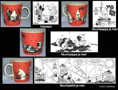 ChiliParkin Taimitarha: Muumimukit 01 - 10 Finland, Chili, Mugs, Tableware, Dinnerware, Chili Powder, Cups, Chilis, Mug