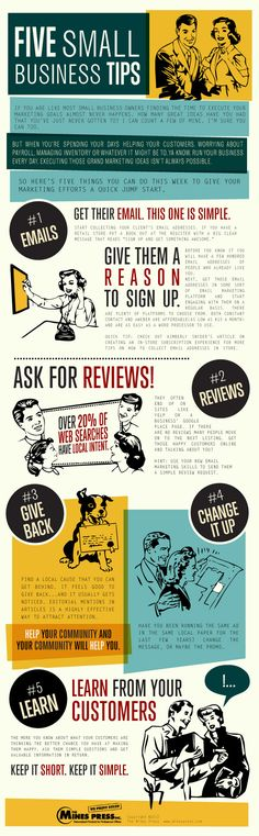 Small Business Marketing Tips - iNFOGRAPHiCsMANiA