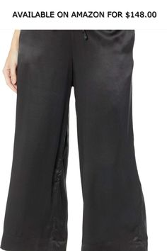 d9390f9e197 commando Womens Silk Wide Leg Crop Pants SLK103 ◇ AVAILABLE ON AMAZON FOR    148.00 ◇