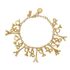 Kate Spade Eiffel Tower charm bracelet! my sister would love this!