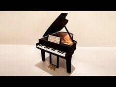 PIANO HECHO CON GOMA EVA - YouTube