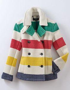 Hudson Bay point blanket coat... NEED