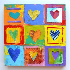 POP art  hearts    jim dine