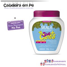 Creme de Tratamento #Sou+Cachos -  Skala (liberado para No Poo) Curly Wurly, Curly Hair Styles, Natural Hair Styles, Hair Hacks, Hair Tips, Personal Care, Beauty, Hair Products, Rapunzel