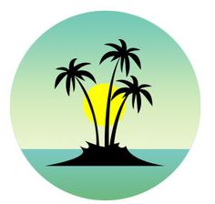 Art Deco beach artwork - Home Page Circle Painting, Fabric Painting, Art Drawings Sketches, Easy Drawings, Hawaiian Art, Small Canvas Art, Beach Artwork, Indian Art Paintings, Stencil Art