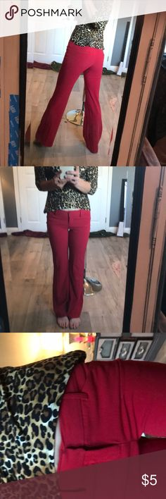 d58ccfc540 Red dress pants. Snug fitted red dress pants. Not sure he size of these
