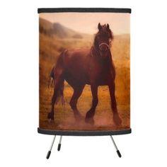 True Love Horse Tripod Lamp - horse animal horses riding freedom
