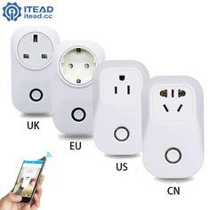 Amazing #product at #ElectroJunkyCom - Wireless WiFi Remote / Timer Socket (EU/US/UK)