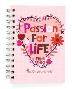 """JOURNALS :: 5x7"""" JOURNALS :: Passion for life 5x7"""" Journal - Ecojot - eco savvy paper products"""