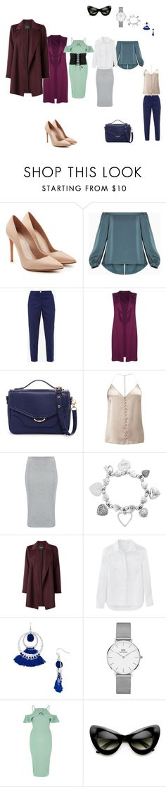 """Capsule to the theater"" by maryana-lotoczkaya on Polyvore featuring мода, Alexander McQueen, BCBGMAXAZRIA, Ted Baker, Boohoo, Cynthia Rowley, Miss Selfridge, ChloBo, Aqua и Daniel Wellington"