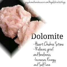 Dolomite crystal meaning
