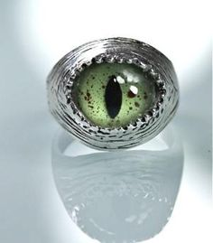 snake eye ring... very cool and sort of eerie