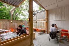 10 Great Patios for Summer in T. Toronto, Furniture, Canvas, City, Summer, Home Decor, Image, Food, Courtyards