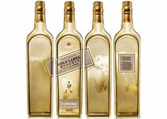 Golden Map Johnnie Walker Gold Label Reserve Exclusive Travellers Edition 1