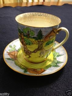Lomonosov Porcelain TEA CUP Saucer Russian Very Collectable | eBay