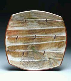 Stoneware Field Plate, Matthew Hyleck