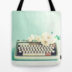 Typewriter tote. To die for.