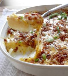 Twice Baked Potatoes Casserole | AllFreeCasseroleRecipes.com