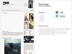 http://www.pose-mag.fr/ #YkoneNetwork