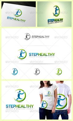 Step Healthy Logo #GraphicRiver Features : - File Types: AI, EPS , PSD - Colour Versions: Normal colour , Gray & Invert(white) - CMYK 100% Print Ready Vectors - Editable Colours - Editable Fonts Fonts used in the design: Harabara and Myriad Pro (download links include in help file) Note: The mockups for presentation only should you need any further assistance or graphic work, don't hesitate to contact me. Please take a moment to rate this item,Thank you! contact: Created: 31December12…