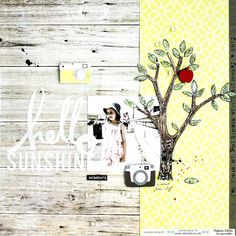 Scrapmanufaktur: Scrapbooking Layouts mit dem Dani Peuss August-Kit