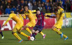 APOEL NICOSIA 0-FCBARCELONA 4