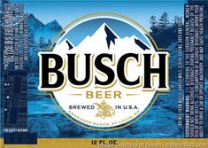 mybeerbuzz.com - Bringing Good Beers & Good People Together...: Bush Beer Overhauling Busch, Busch Light, Busch Ic...