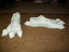 Staraptor Cosplay Feet 18 by *DarkDragonKai on deviantART