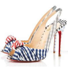 Our Christian Louboutin online store can offer you discounted Christian Louboutin Jenny 100mm Slingbacks. It is a must to offer $0 shipping of each purchase. When you're find christian louboutin shoes, I do believe this is your exact store you are looking for Christian Louboutin Jenny 100mm Slingbacks. Here you'll get the quality guaranteed red bottom shoes.