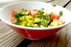 Easy Avocado Salad [Vegan, Raw, Gluten-Free]