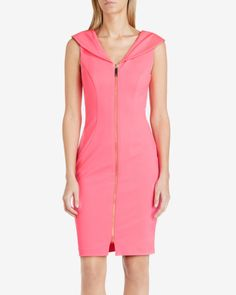 RAVANA  Bodycon dress - Coral   Dresses   Ted Baker