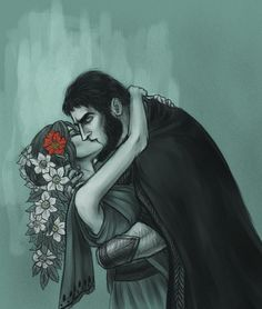 "Hades and Persephone, ""First Fall"" by asphodelon"