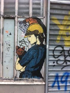 Rustoff #Streetart #Paris #urbacolors
