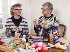 arne en carlos breien poppen Arne And Carlos, Couture, Videos, Straw Bag, Knit Crochet, Blog, Etsy, Couple Photos, Knitting