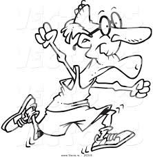 High resolution royalty free vector graphic of a cartoon fit senior man running - coloring page outline. This jogging stock vector image was designed and digitally rendered by toonaday. People Coloring Pages, Printable Coloring Pages, Coloring Books, Man Clipart, Funny Sketches, Cartoon People, Clipart Black And White, Stick Figures, Digi Stamps