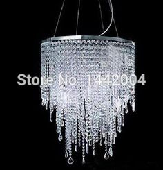 free shipping modern crystal light bar chandelier round   hanging lighting for restaurant(China (Mainland))