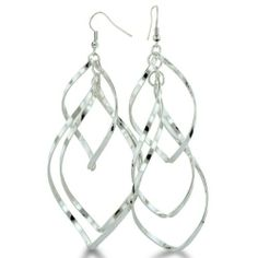Shiny Lightweight Silver Tone Spiral Dangle Earrings SuperJeweler. $5.99. All purchases from SuperJeweler come with The SuperJeweler Lifetime Guarantee. Your SuperJeweler jewelry purchase includes a lifetime guarantee against the loss of side stones or damage to the jewelry's setting or center stone. It also includes a one-year replacement guarantee against the loss of your jewelry's center stone.