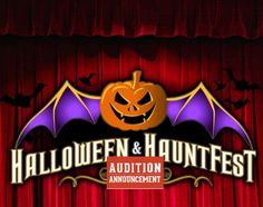 Scare Auditions take place Sunday August 27 at...: Scare Auditions take place Sunday August 27 at 3:00pm on the main stage at the Halloween…