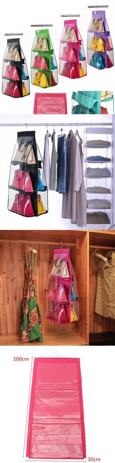 US$9.59 Handbag Purse Bag Tidy Organizer Storage Wardrobe Closet Hanger