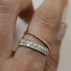 24k Gold Jewelry, Italian Gold Jewelry, Antique Jewelry, Jewellery, Gold Diamond Wedding Band, Diamond Bands, Gold Bands, Rose Gold Band Ring, Diamond Stacking Rings