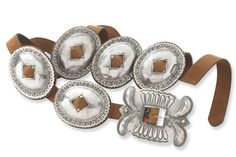 <3 this ... Sterling Silver Concho Belt  ...  Very pricey but cool!