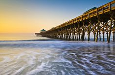 Folly Beach, South Carolina The eclectic island community of Folly Beach offers everything from wildlife-watching to some of the East Coast's best surfing. Peaceful waters, quaint cottages, and artsy charm make this island a hot spot for Charleston day-trippers. www.facebook.com/loveswish