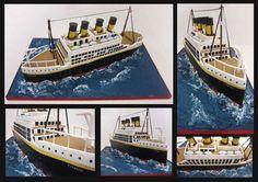 titanic cake copy