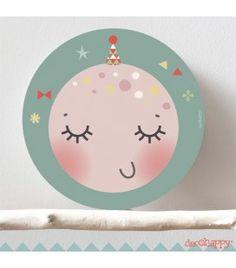 Cuadro infantil Luna imagine