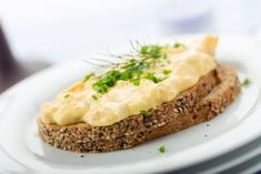 A recipe for Deviled Egg Sandwiches made with butter or cream cheese, bread, hard-boiled eggs, canned sardines in oil, mayonnaise Egg Sandwiches, Sandwich Recipes, Egg Recipes, Hard Boiled, Boiled Eggs, Deviled Eggs Recipe, Mayonnaise, Baked Potato, Mashed Potatoes