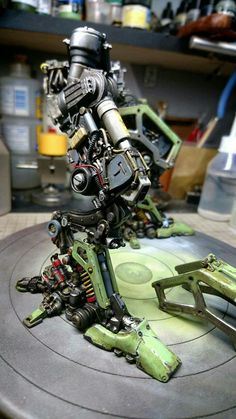 #MODELING Tattoos Bras, Surface Modeling, Arte Robot, Sci Fi Models, Cool Robots, Robot Concept Art, Robot Design, Mechanical Design, Gundam Model
